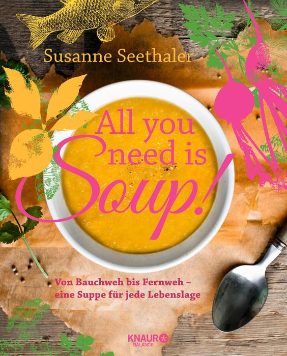 All you need is soup von Susanne Seethaler