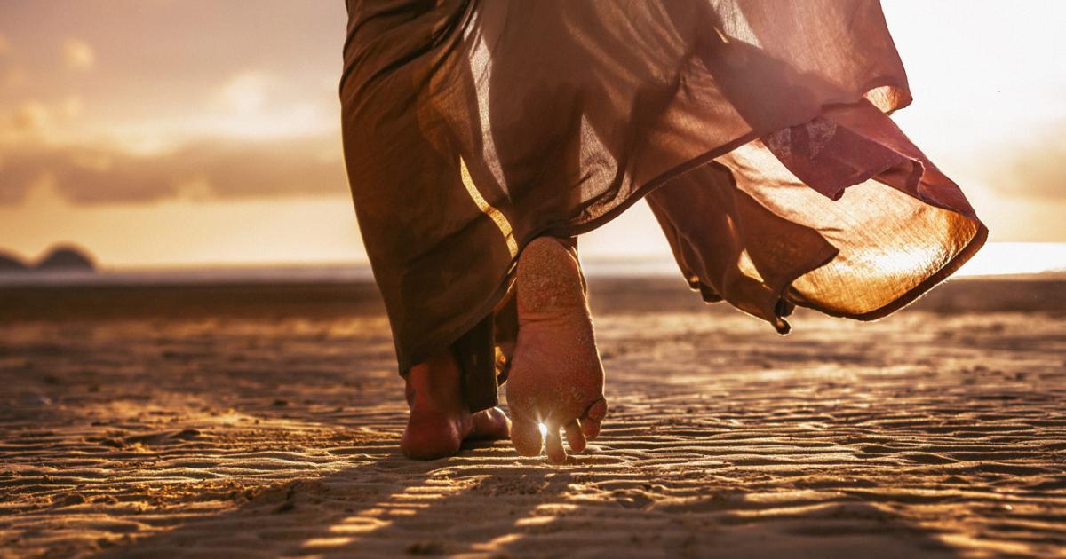 Die Füße Werden Verehrt