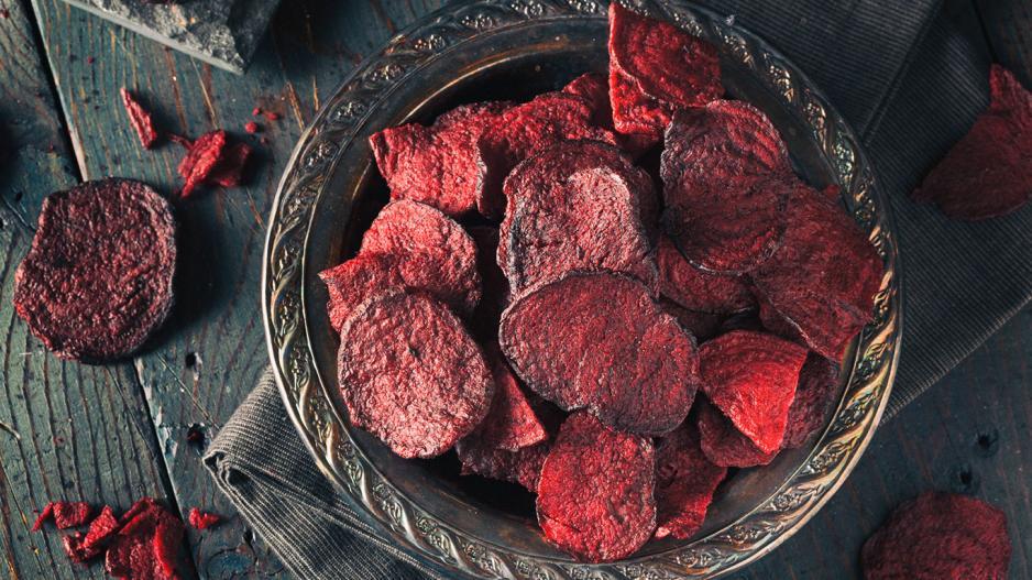 Rote Beete Chips Gesund